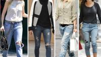 Yırtık Jeanleri Böyle Giyin