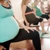 9 Aylık Hamile Kadın Yoga Yaptı!