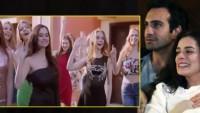 Rus mankenler dizi setinde skandal çıkardı