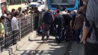 Tramvay Kadını Metrelerce Sürükledi!