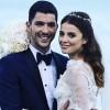 Ezgi Eyüboğlu ve Kaan Yıldırım evlendi