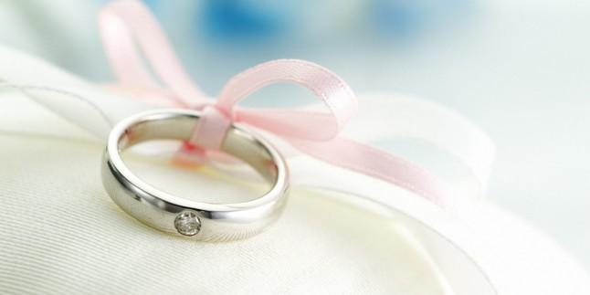 Romantik bir düğün!
