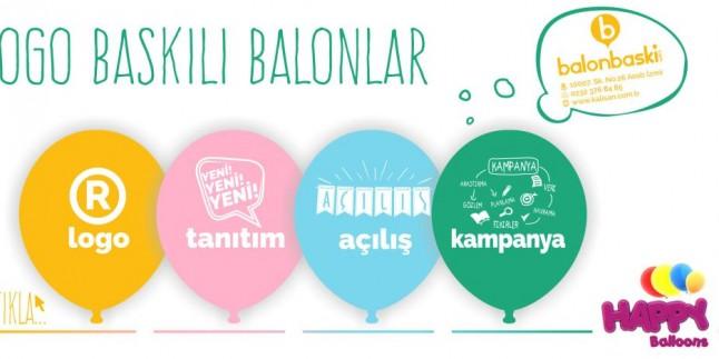 Logo Baskılı Balonlarla Alternatif Reklam Yöntemi