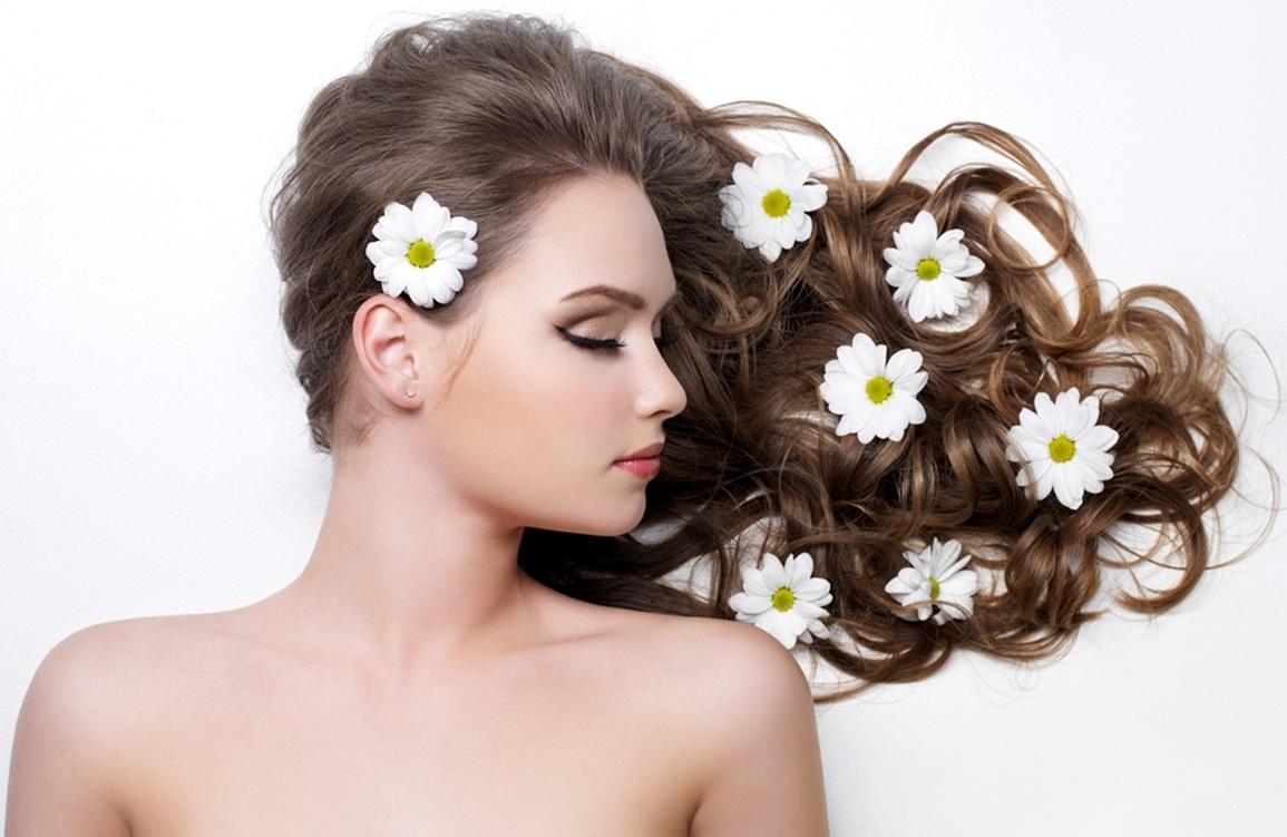 Parlak Saçlar için Doğal Yağlar
