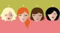 Doğal Saç Rengini Seç, Karakterini Çözelim!