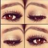 Kahverengi Gözler Göz Farıyla Nasıl Daha Büyük Gösterilir?