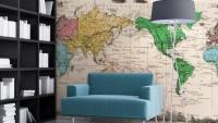 Haritaları Dekorasyon için Kullanın
