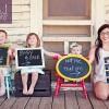 Hamilelik Dönemini Anlatan Neşeli Fotoğraflar
