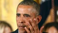 Obama Gözyaşlarını Tutamadı!
