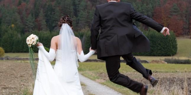 Yeni evlenen çiftler