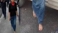 Suriyeli Kız Çocuğu Yalın Ayak 10 Kilometre Yürüyüp Polise Sığındı