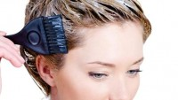 Saç gürleştiren saç boyası