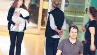 Mahsun Kırmızıgül bebeği ve eşiyle Türkiye'de