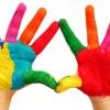 Renkler ve çocuklar arasındaki bağ