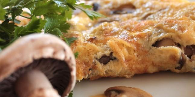 Mantarlı yumurtalı börek tarifi