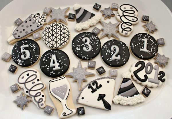 yeni yıl kurabiye