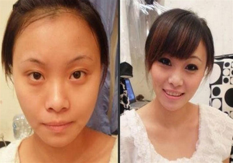 самые уродливые азиатки красятся видео
